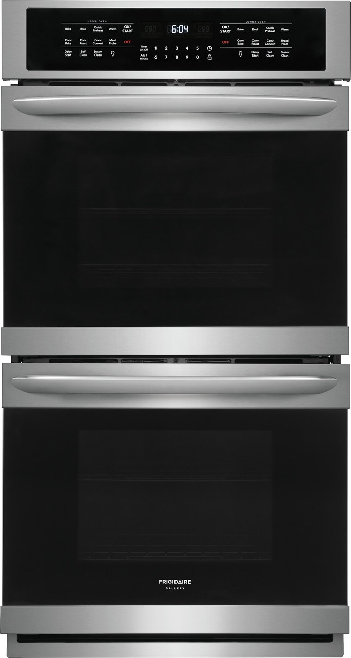 "Model: FGET2766UF | Frigidaire Gallery 27"" Double Electric Wall Oven"