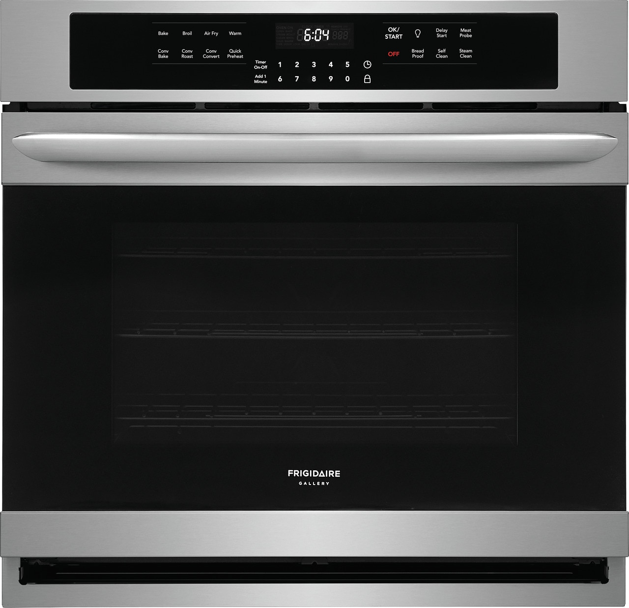 """Frigidaire Gallery 30"""" Single Electric Wall Oven with Air Fry"""