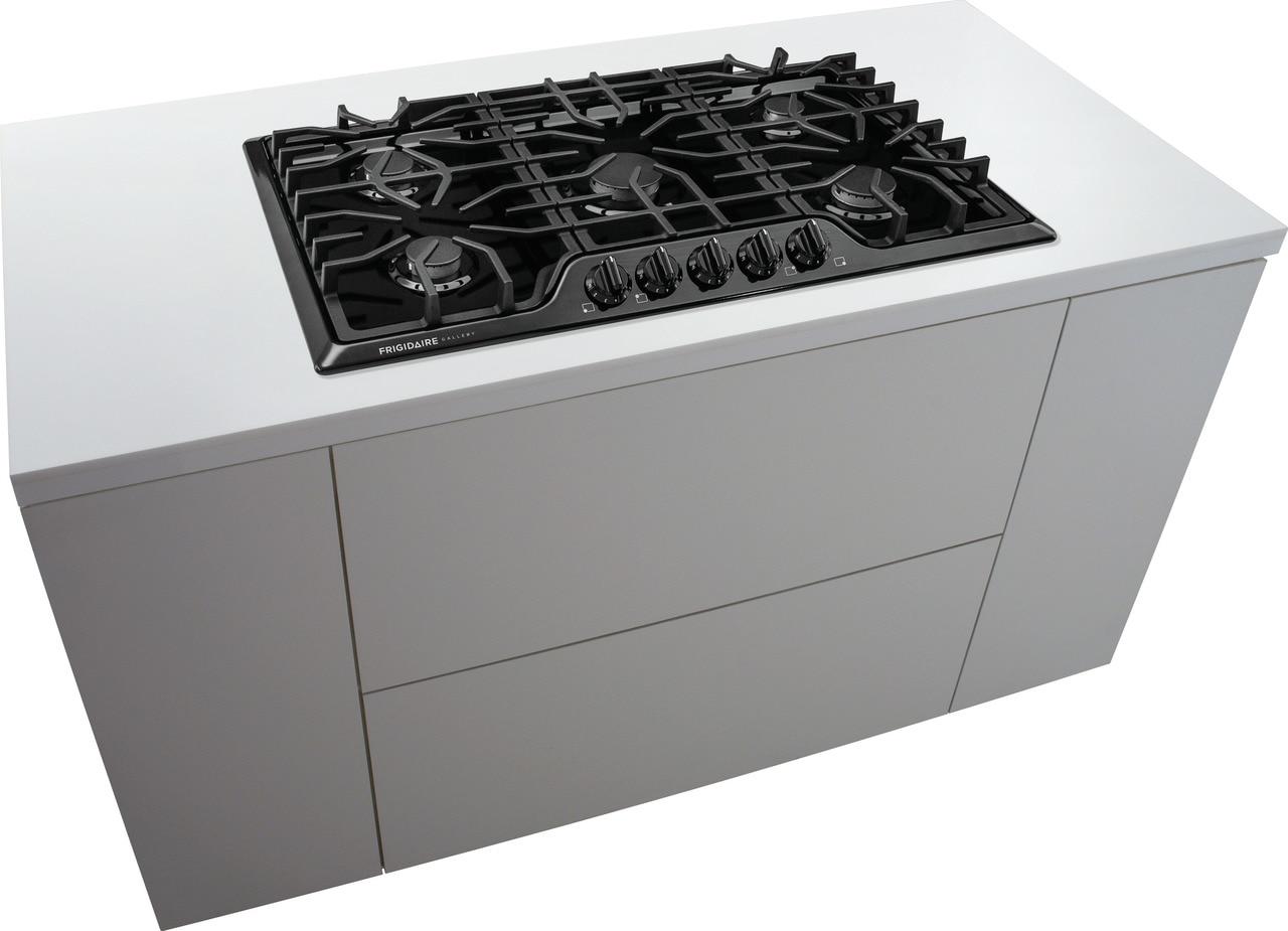 "Model: FGGC3645QB | Frigidaire Gallery 36"" Gas Cooktop"