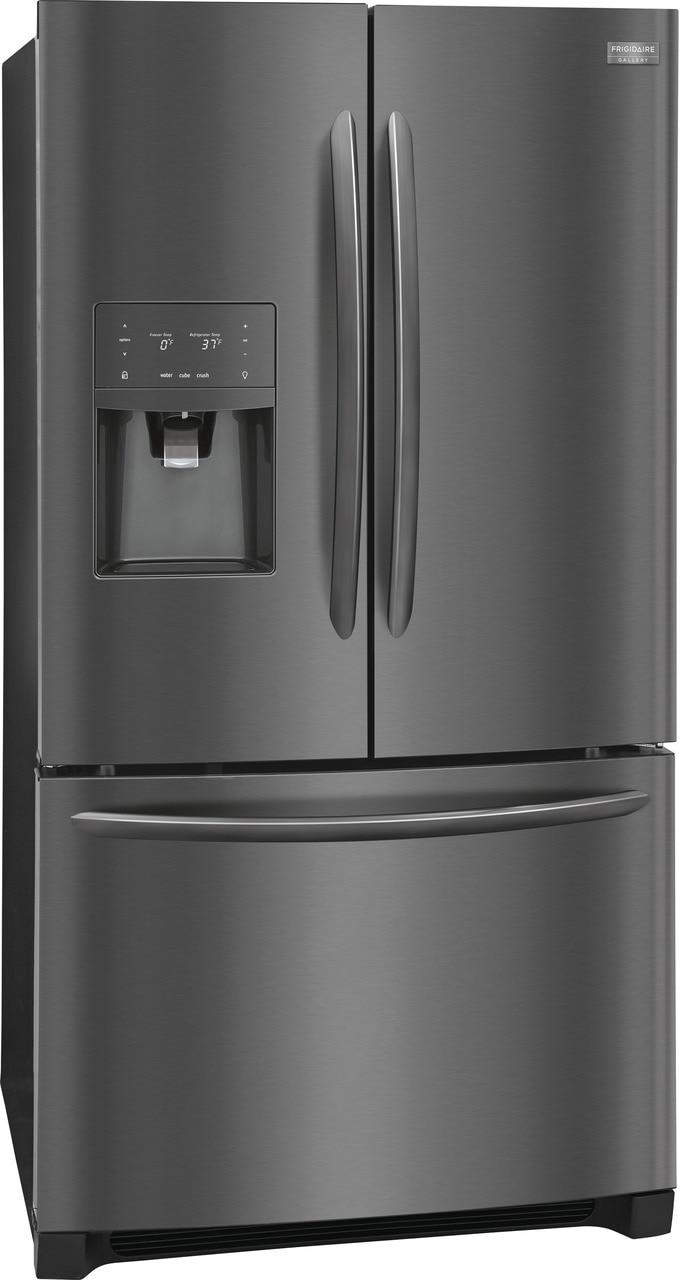 Model: FGHD2368TD | Frigidaire Gallery 21.7 Cu. Ft. Counter-Depth French Door Refrigerator