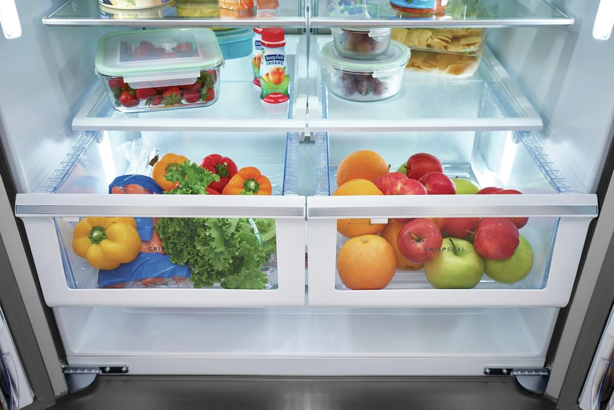 Model: FGHG2368TF | Frigidaire Gallery 22.4 Cu. Ft. Counter-Depth French Door Refrigerator