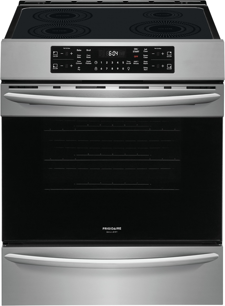 """Frigidaire Gallery 30"""" Front Control Induction Range with Air Fry"""