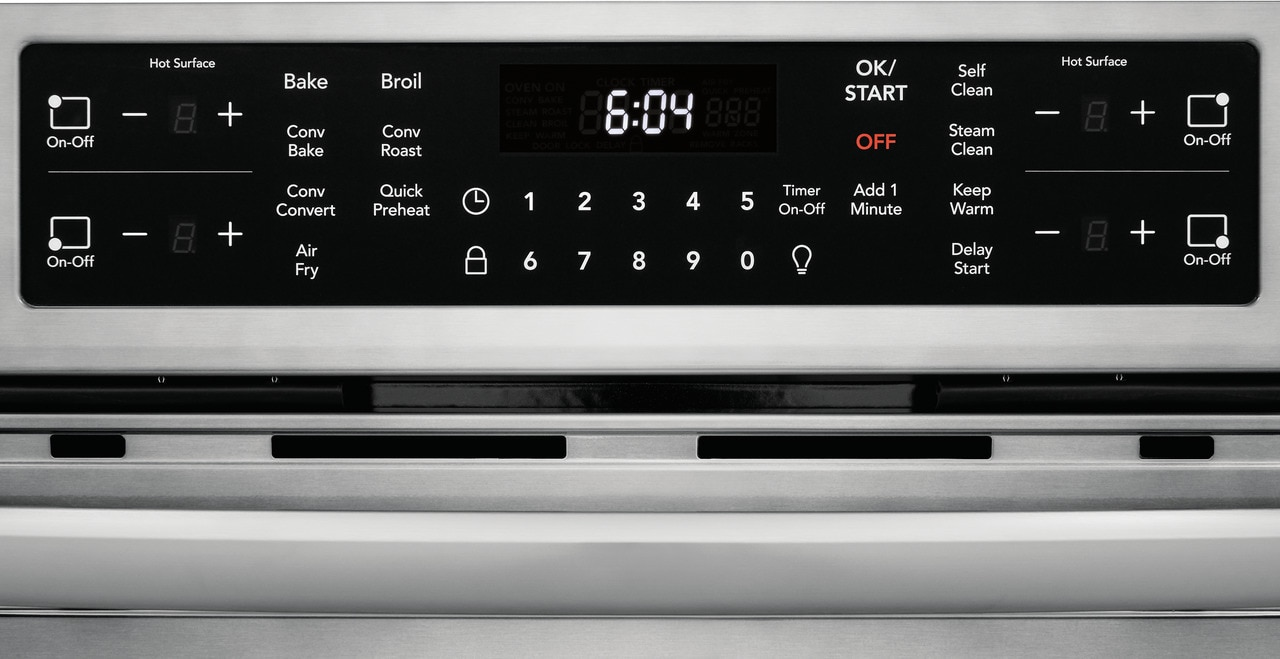"Model: FGIH3047VF | Frigidaire Gallery 30"" Front Control Induction Range with Air Fry"