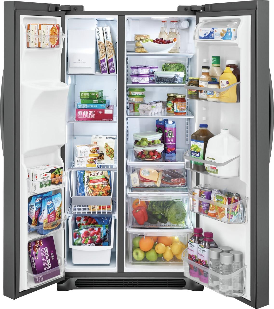 Model: FGSS2635TD   Frigidaire Gallery 25.5 Cu. Ft. Side-by-Side Refrigerator