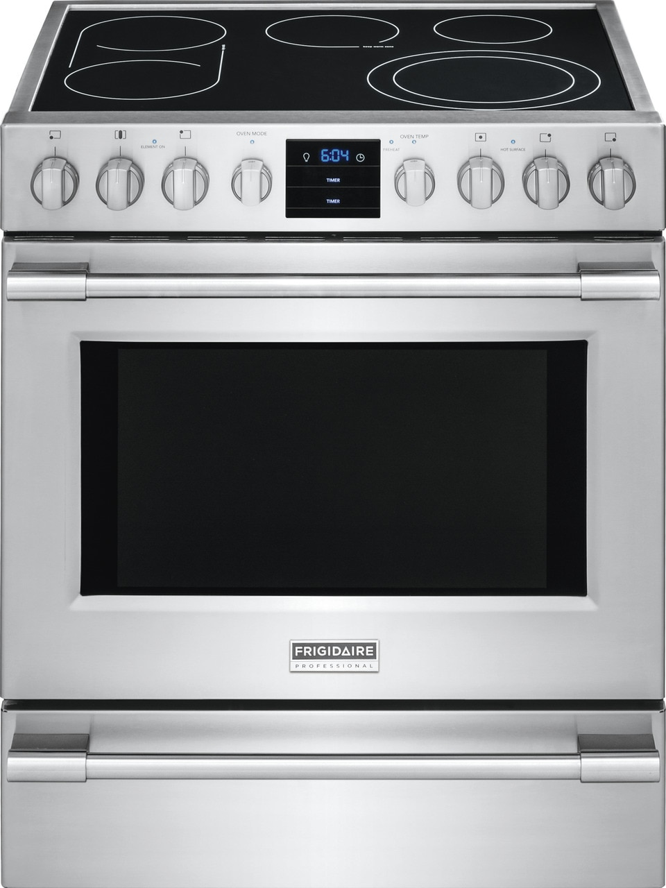 "Frigidaire Professional 30"" Electric Front Control Freestanding"