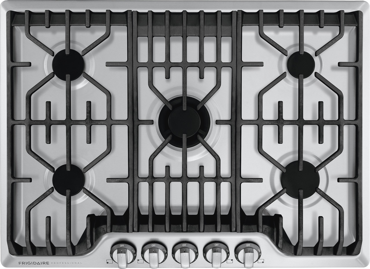 "Frigidaire Professional 30"" Gas Cooktop with Griddle"