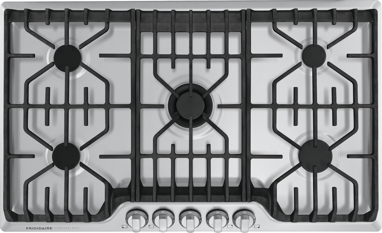 "Frigidaire Professional 36"" Gas Cooktop with Griddle"