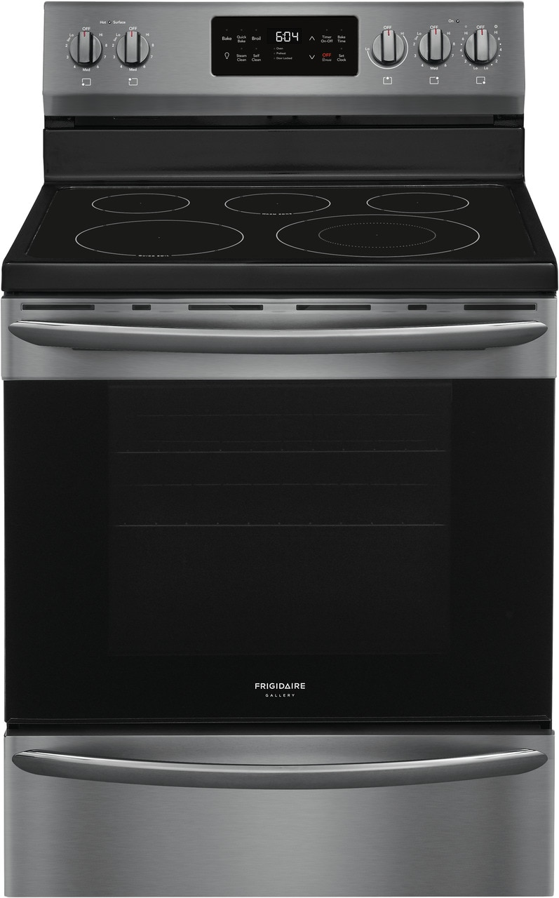 """Frigidaire Gallery 30"""" Freestanding Electric Range with Steam Clean"""