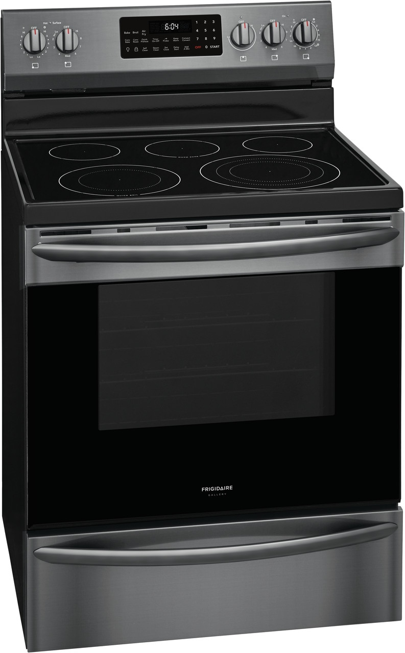 """Model: GCRE3060AD   Frigidaire Gallery 30"""" Freestanding Electric Range with Air Fry"""