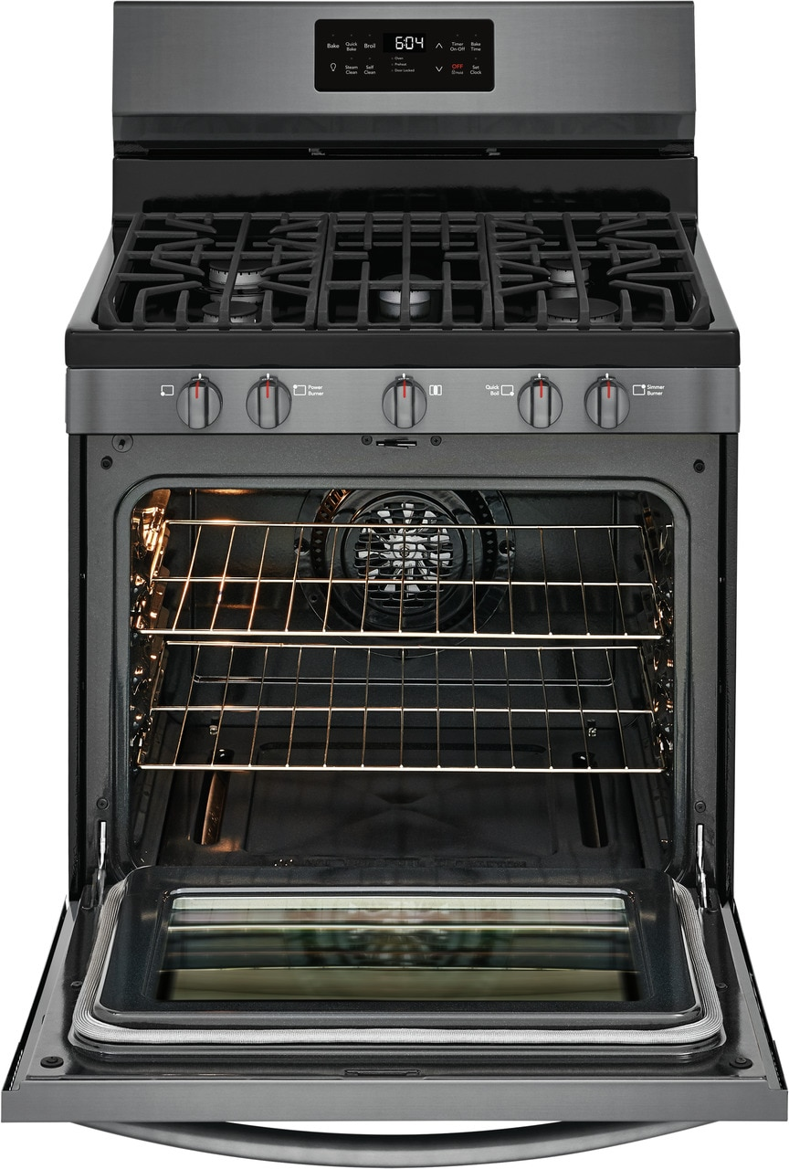 """Model: GCRG3038AD   Frigidaire Gallery 30"""" Freestanding Gas Range with Steam Clean"""