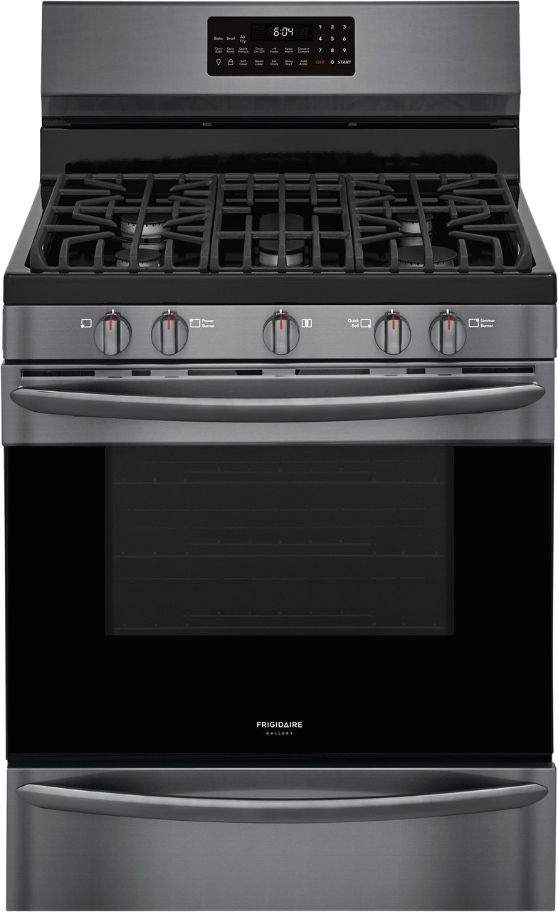 """Frigidaire Gallery 30"""" Freestanding Gas Range with Air Fry"""
