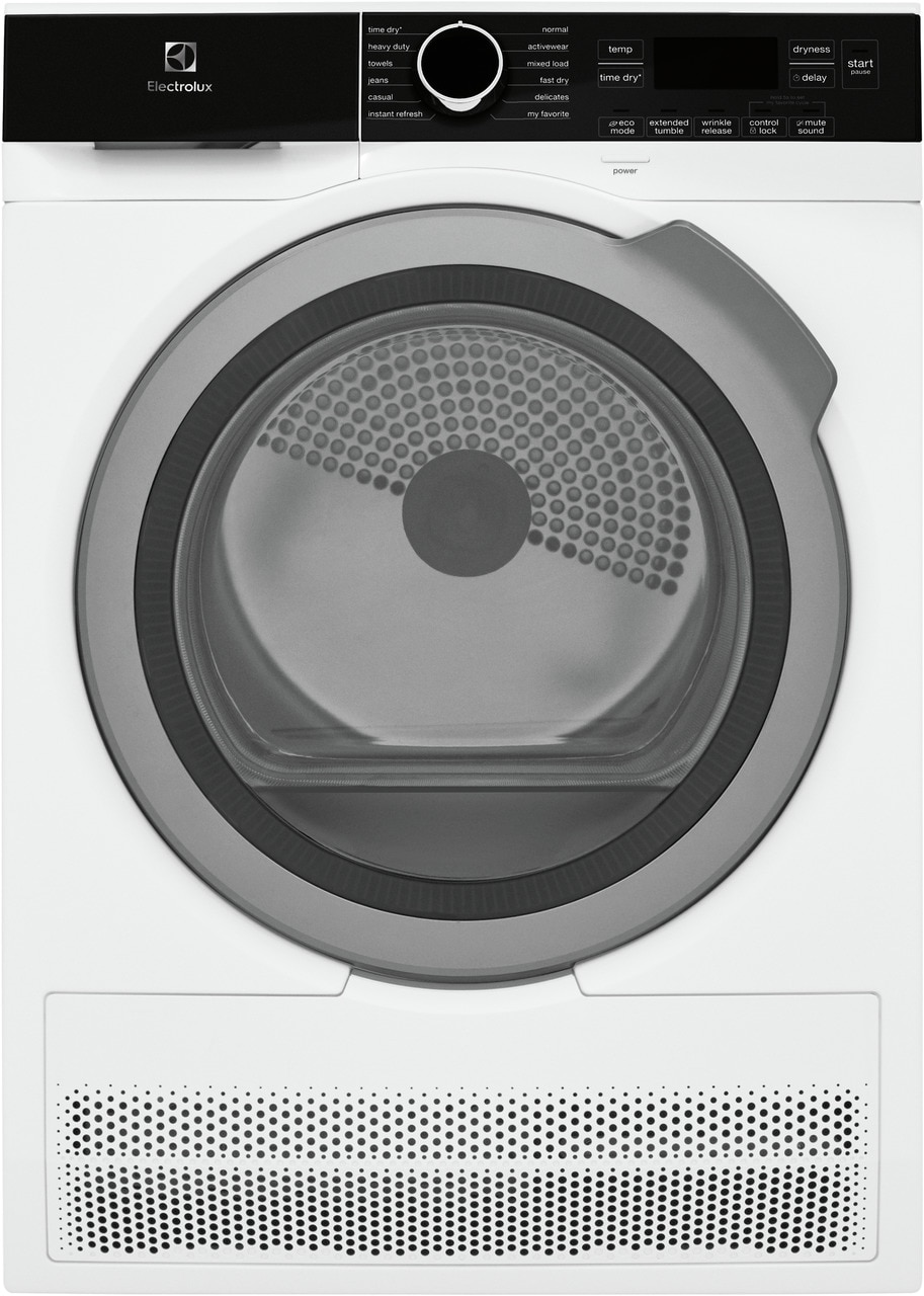 """Electrolux 24"""" Compact Front Load Dryer - Ventless, Energy Star Certified, 4.0 Cu.ft."""