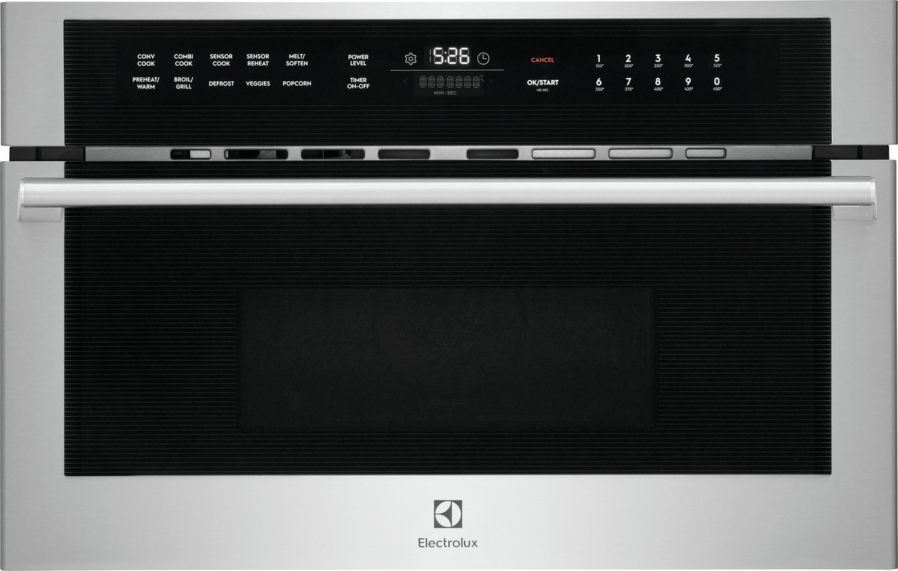 "Electrolux 30"" Built-In Microwave Oven with Drop-Down Door"