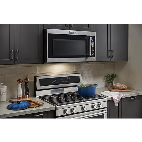 "Model: KMHS120ESS | KitchenAid 30"" 1000-Watt Microwave Hood Combination"
