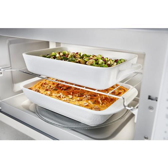 "Model: KMHS120EWH | KitchenAid 30"" 1000-Watt Microwave Hood Combination"
