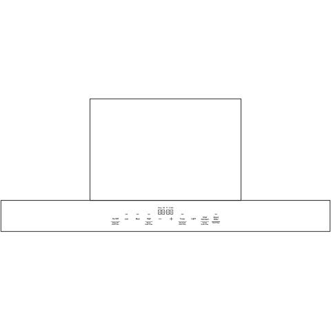 "Model: UVW9301SLSS | GE Profile 30"" Smart Designer Wall Mount Hood w/ Perimeter Venting"