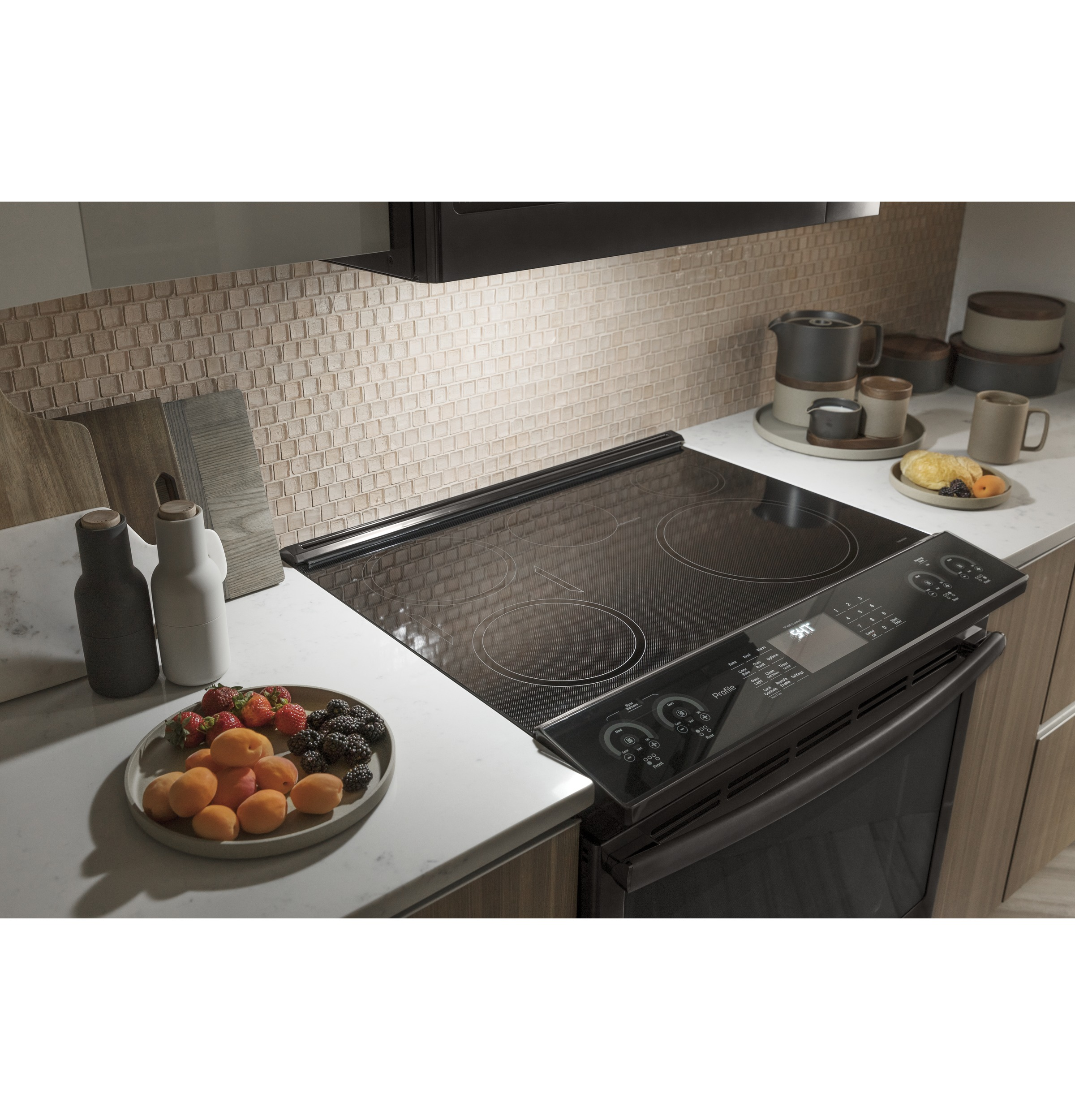 Model: PVM9179BLTS   GE Profile GE Profile™ 1.7 Cu. Ft. Convection Over-the-Range Microwave Oven
