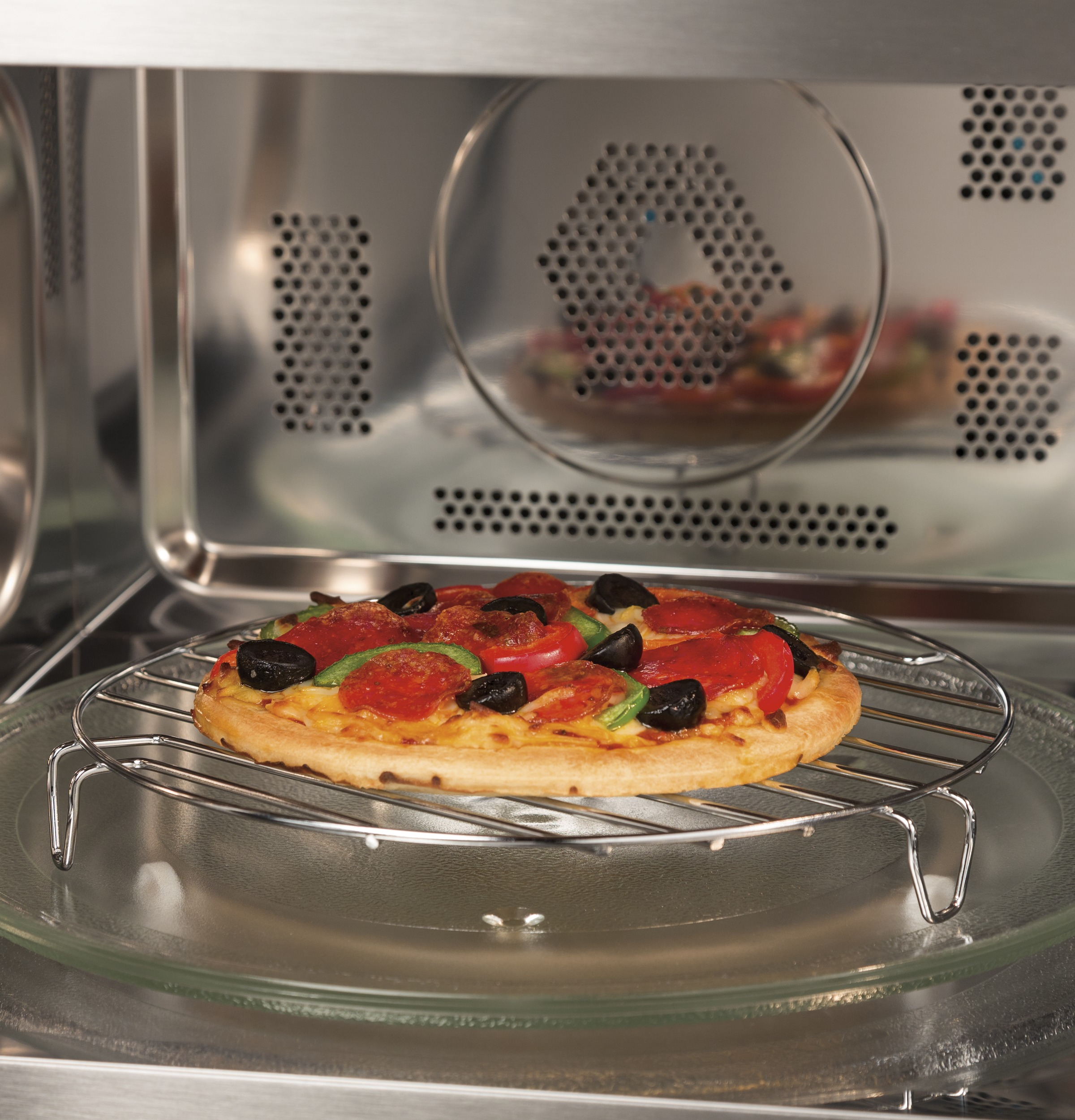 Model: PEB9159DJWW | GE Profile GE Profile™ 1.5 Cu. Ft. Countertop Convection/Microwave Oven