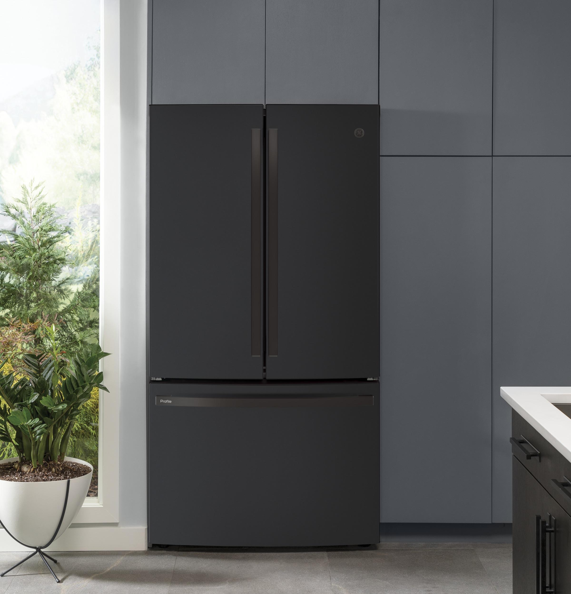 Model: PWE23KELDS   GE Profile GE Profile™ Series ENERGY STAR® 23.1 Cu. Ft. Counter-Depth French-Door Refrigerator