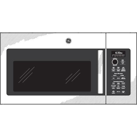 Model: PVM9179EKES | GE Profile GE Profile™ 1.7 Cu. Ft. Convection Over-the-Range Microwave Oven