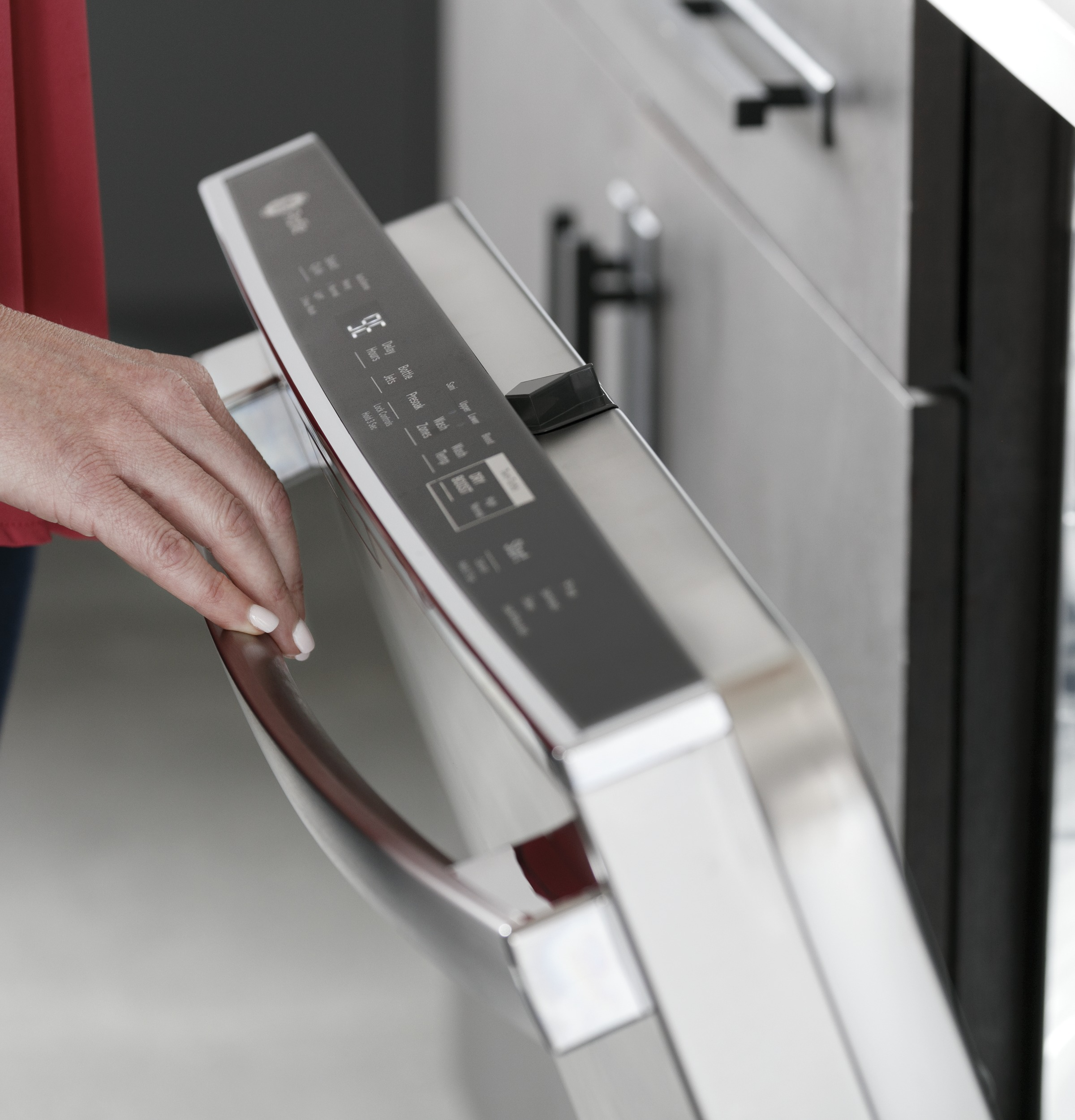 Model: PDT785SBNTS | GE Profile GE Profile™ Top Control with Stainless Steel Interior Dishwasher with Sanitize Cycle & Twin Turbo Dry Boost