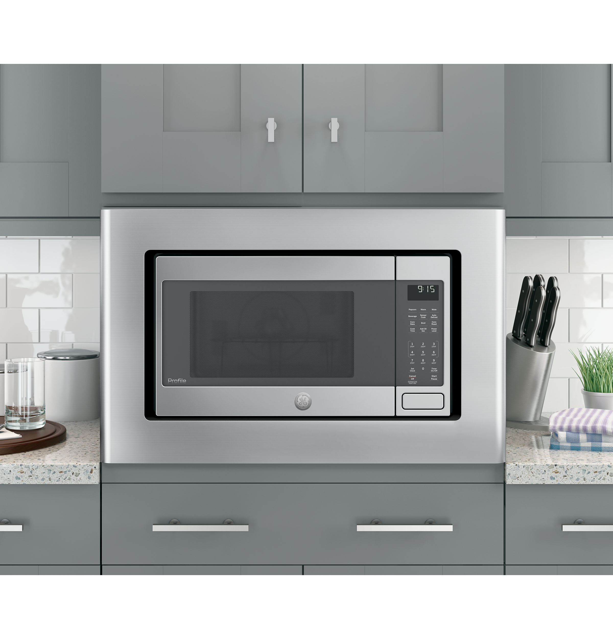 Model: PEB9159SJSS   GE Profile GE Profile™ 1.5 Cu. Ft. Countertop Convection/Microwave Oven