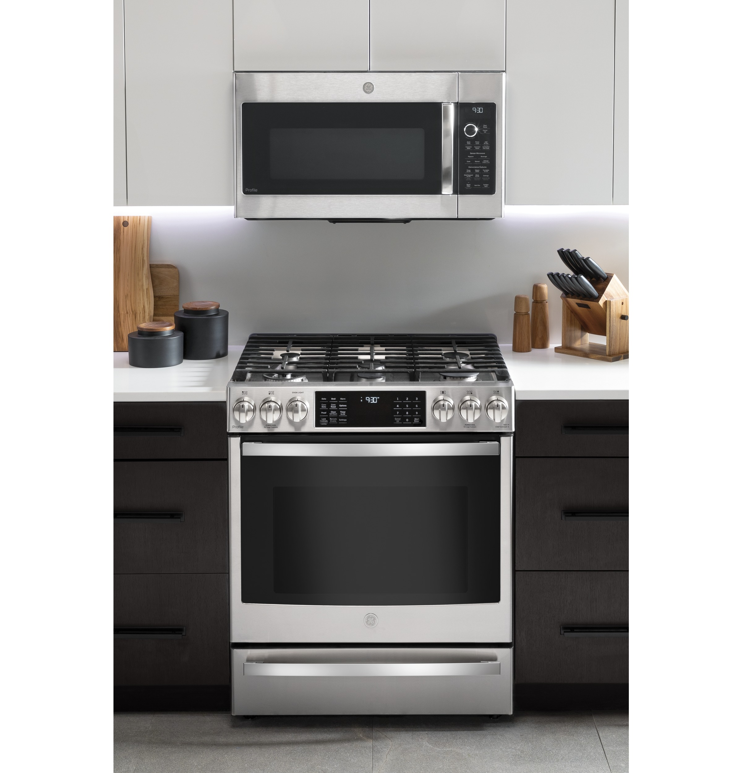 Model: PVM9179SKSS | GE Profile GE Profile™ 1.7 Cu. Ft. Convection Over-the-Range Microwave Oven