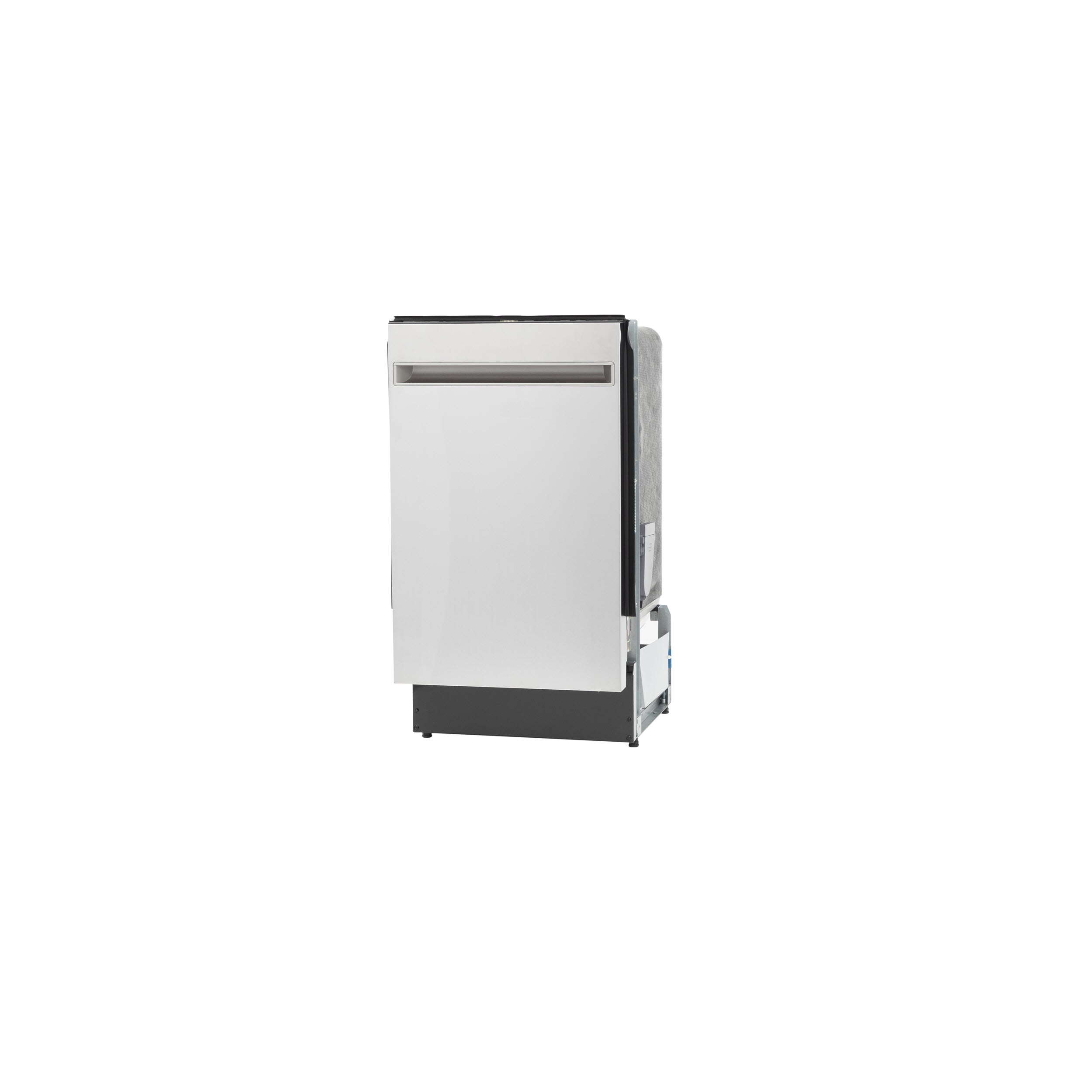 """Model: PDT145SSLSS   GE Profile GE Profile™ 18"""" ADA Compliant Stainless Steel Interior Dishwasher with Sanitize Cycle"""