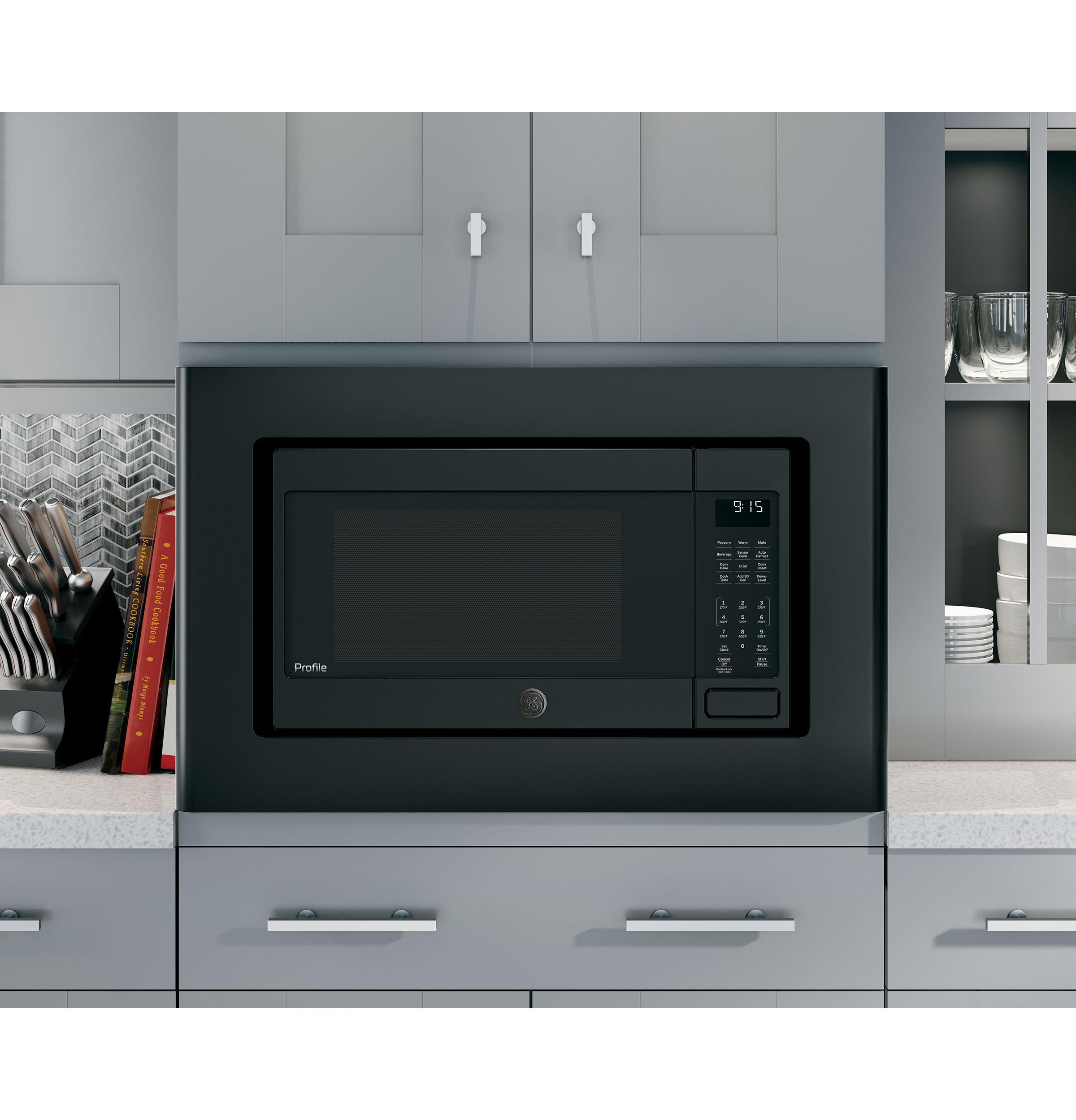 Model: PEB9159DJBB | GE Profile GE Profile™ 1.5 Cu. Ft. Countertop Convection/Microwave Oven