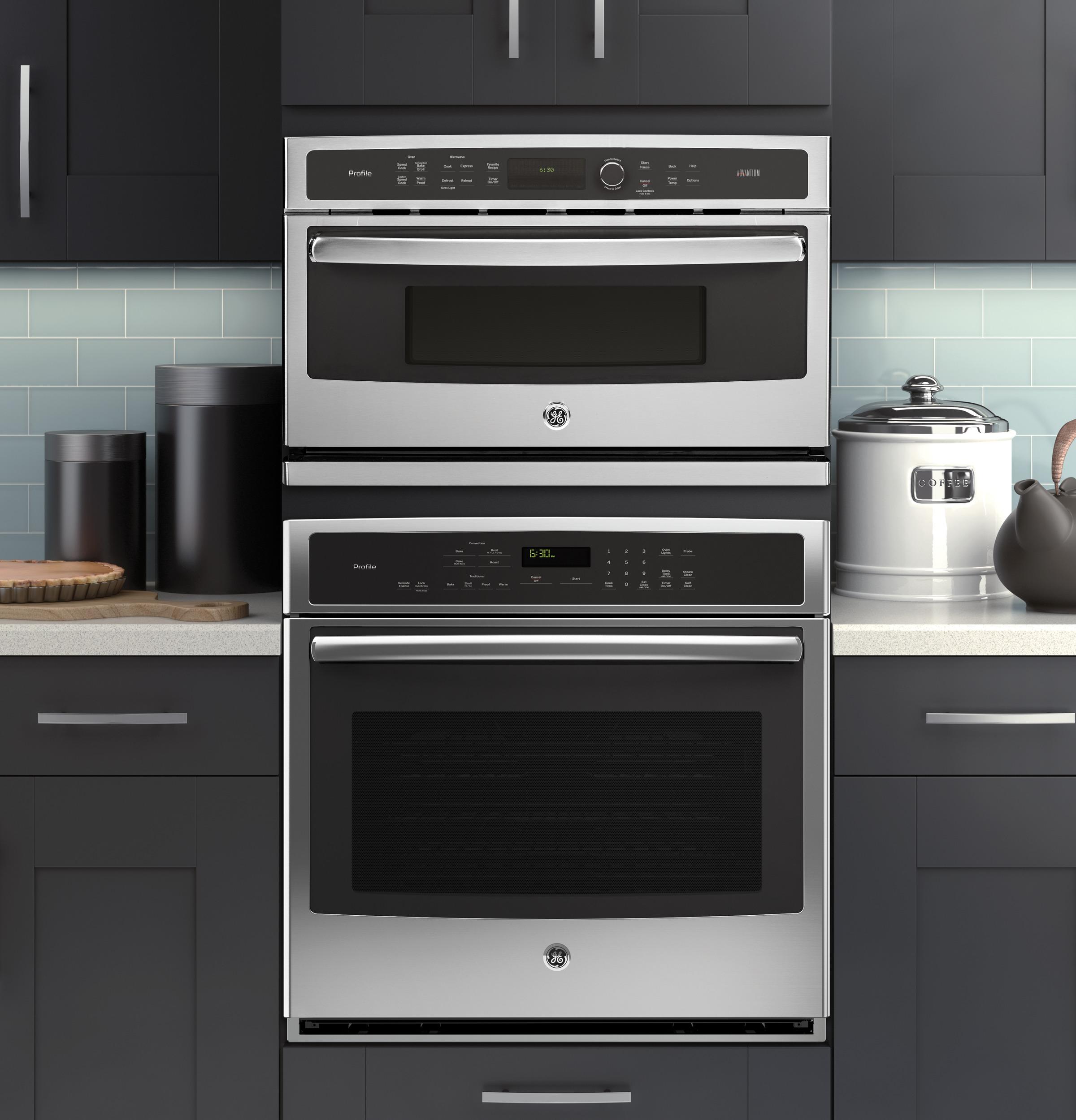 Model: PSB9240SFSS | GE Profile GE Profile™ 30 in. Single Wall Oven with Advantium® Technology