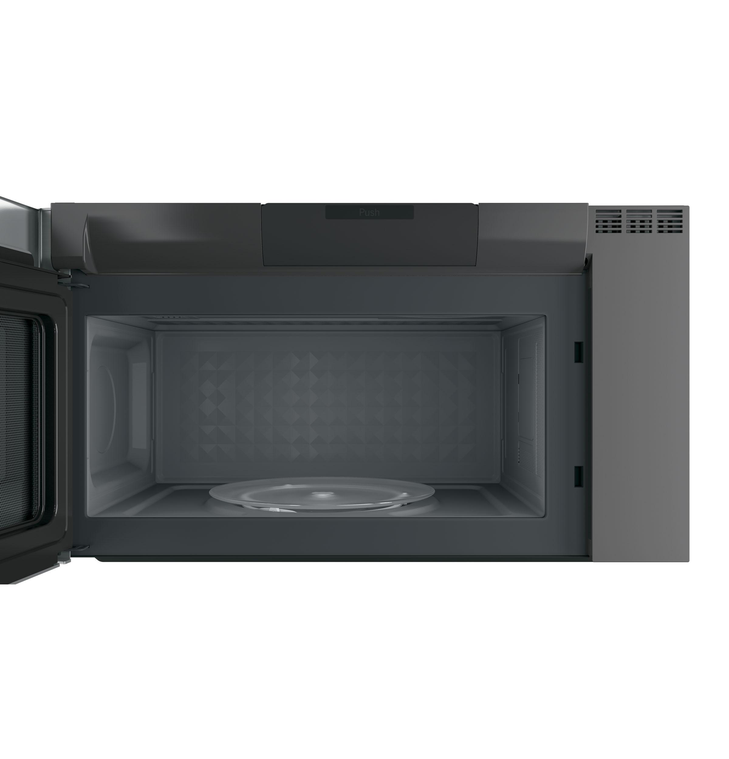 Model: PVM9005SJSS | GE Profile GE Profile™ 2.1 Cu. Ft. Over-the-Range Sensor Microwave Oven