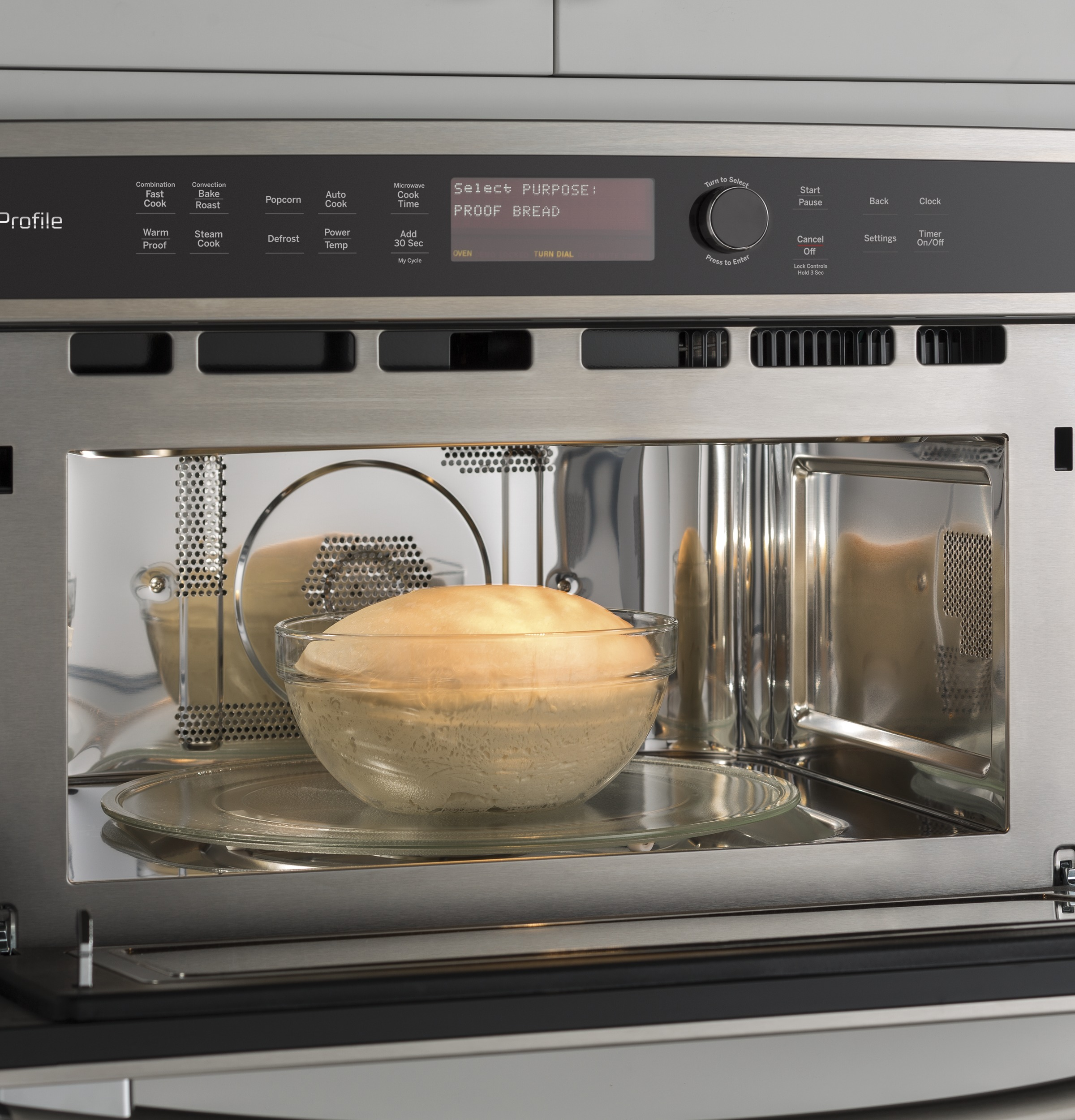 Model: PWB7030SLSS | GE Profile GE Profile™ Built-In Microwave/Convection Oven