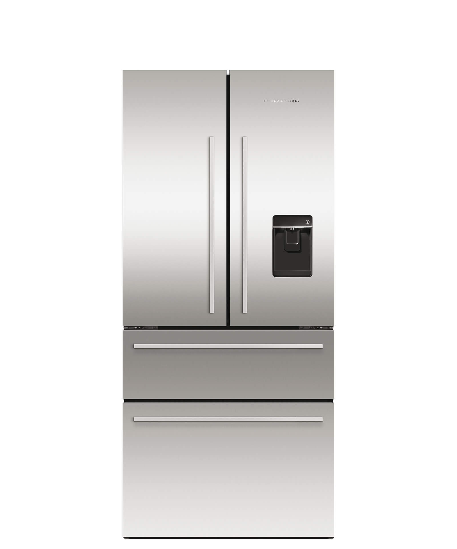 Model: RF172GDUX1 | Fisher and Paykel ActiveSmart™ Refrigerator - 16.9 cu ft. counter depth French Door, Ice & Water