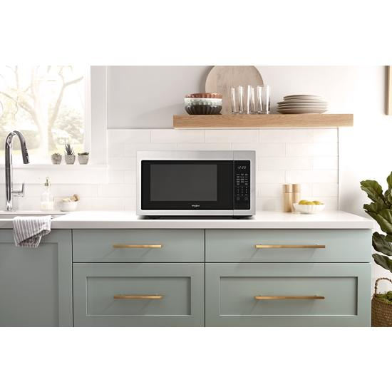 Model: WMC30516HZ | Whirlpool 1.6 cu. ft. Countertop Microwave with 1,200-Watt Cooking Power