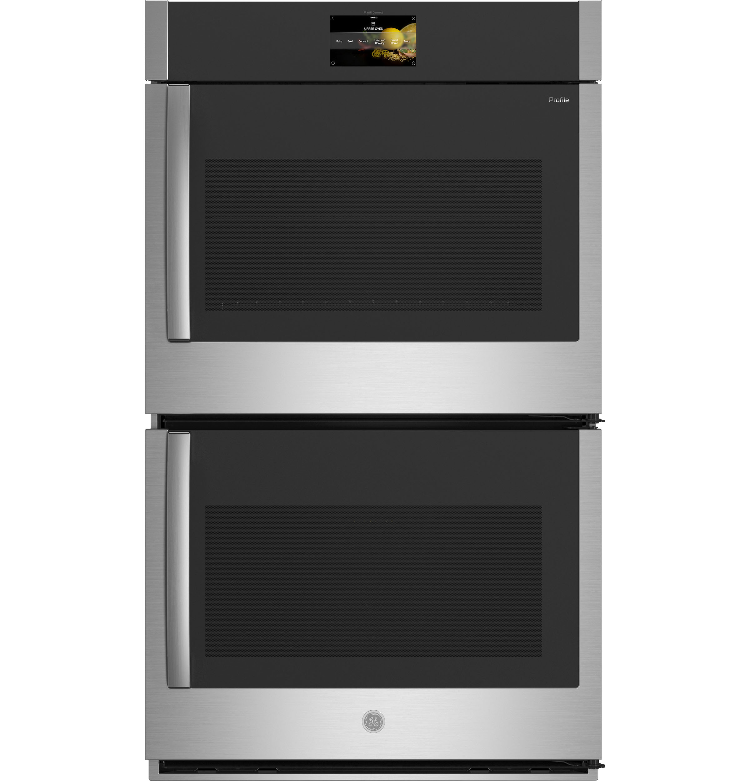 "GE Profile GE Profile™ 30"" Smart Built-In Convection Double Wall Oven with Right-Hand Side-Swing Doors"