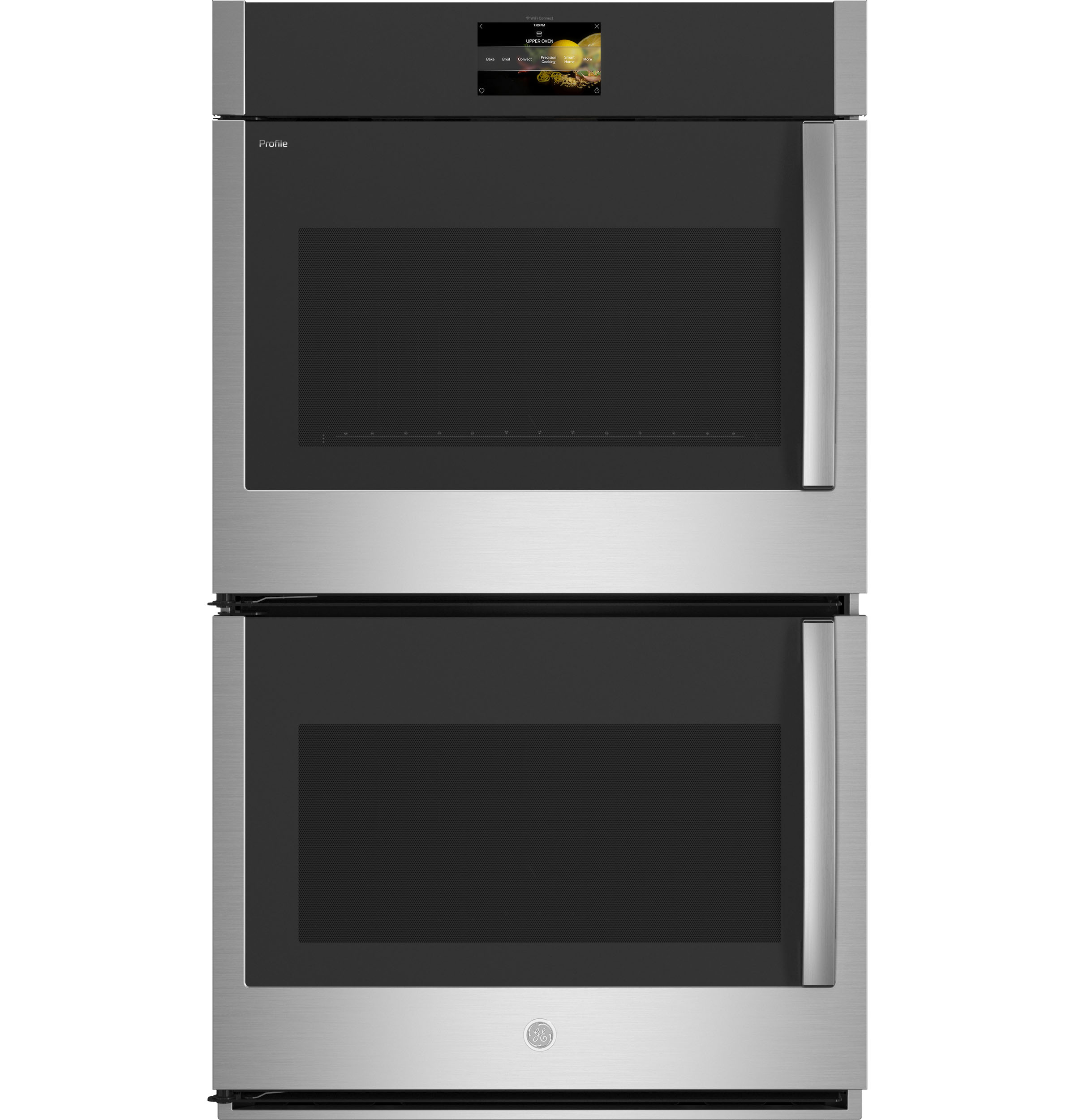 "GE Profile GE Profile™ 30"" Smart Built-In Convection Double Wall Oven with Left-Hand Side-Swing Doors"