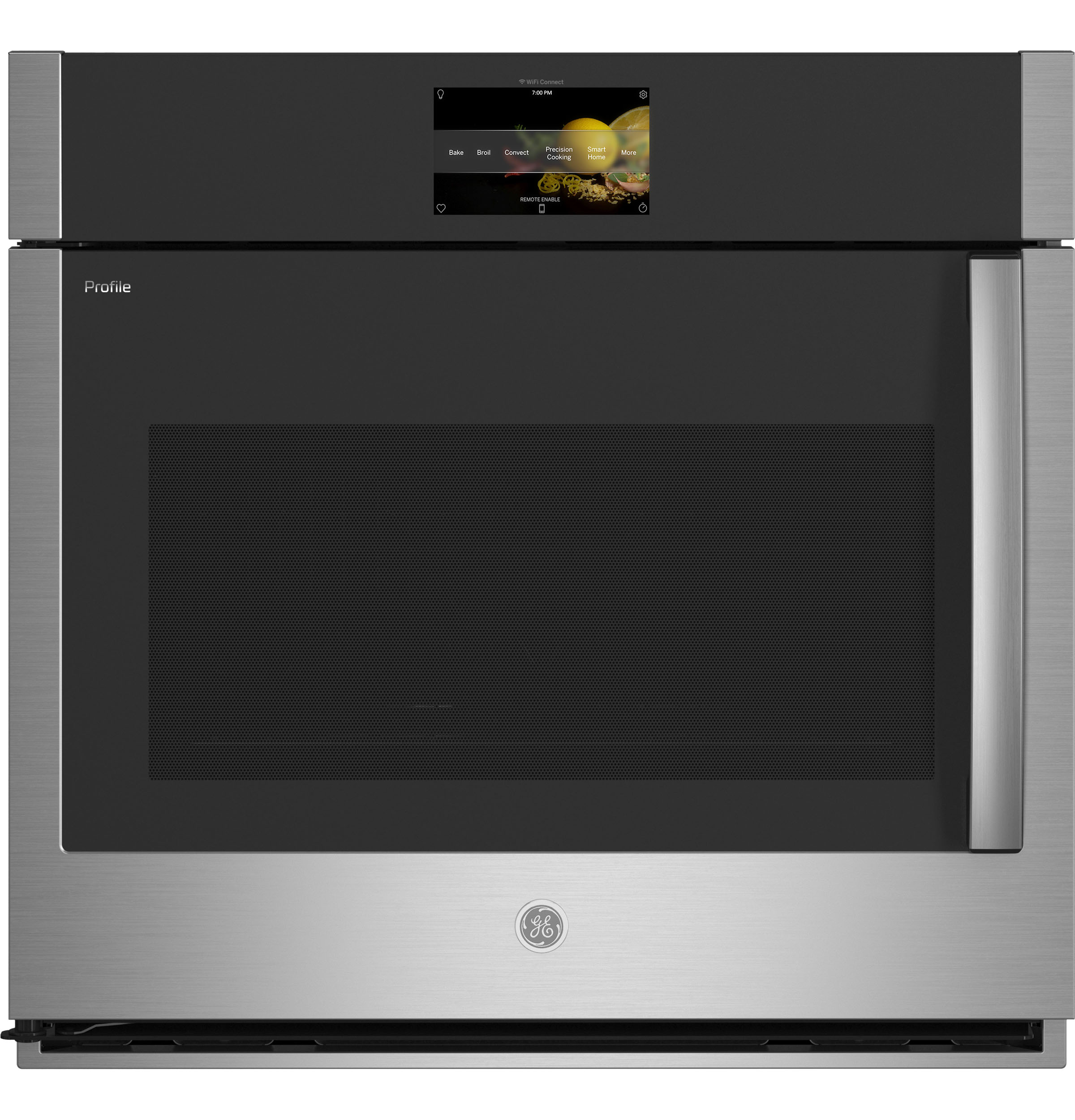 """GE Profile GE Profile™ 30"""" Smart Built-In Convection Single Wall Oven with Left-Hand Side-Swing Doors"""