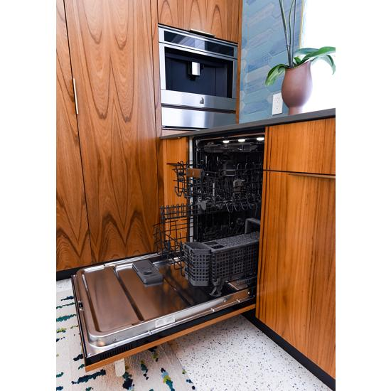 "Model: JDTSS245GX | Jenn-Air Panel-Ready 24"" Built-In TriFecta™ Dishwasher, 38dBA"