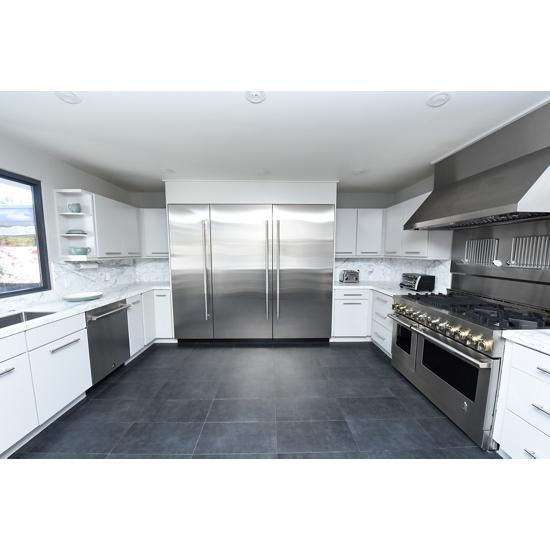 "Model: JDTSS246GL | Jenn-Air RISE™ 24"" TriFecta™ Dishwasher, 38 dBA"