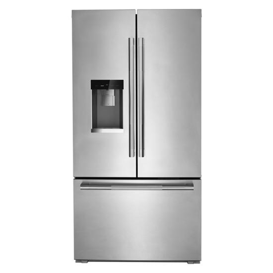 """Jenn-Air RISE™ 72"""" Counter-Depth French Door Refrigerator with Obsidian Interior"""