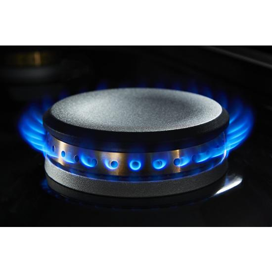 """Jenn-Air NOIR™ 48"""" Gas Professional-Style Rangetop with Chrome-Infused Griddle and Grill"""