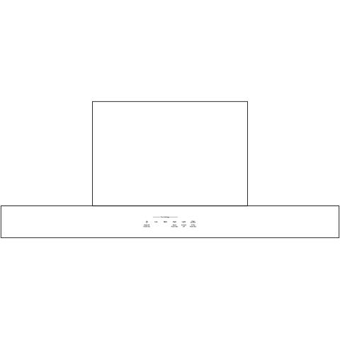 "Model: UVW8301SLSS | GE Profile 30"" Designer Wall Mount Hood w/ Dimmable LED Lighting"