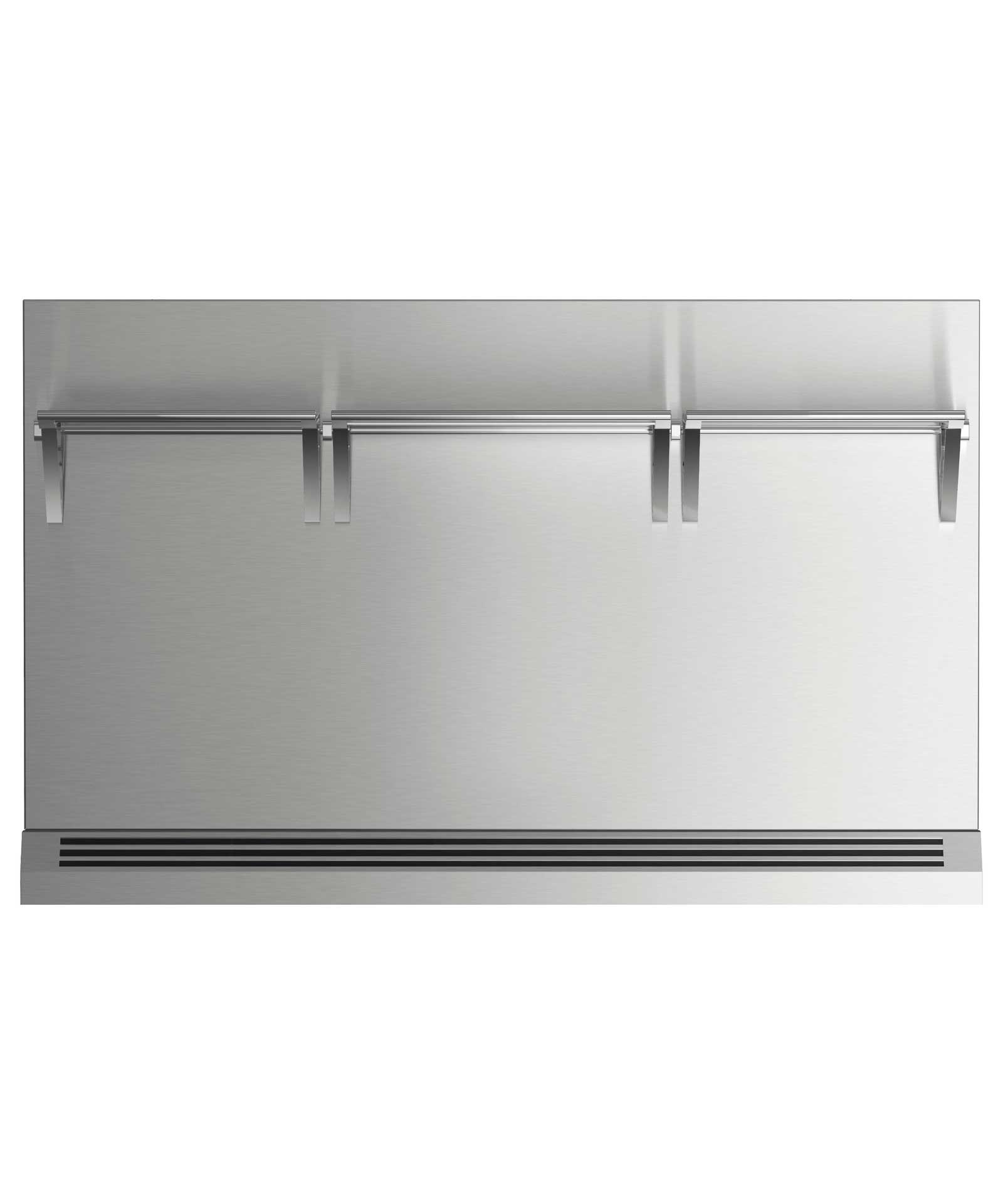 """Fisher and Paykel 48"""" Range High Backguard for combustible situation"""