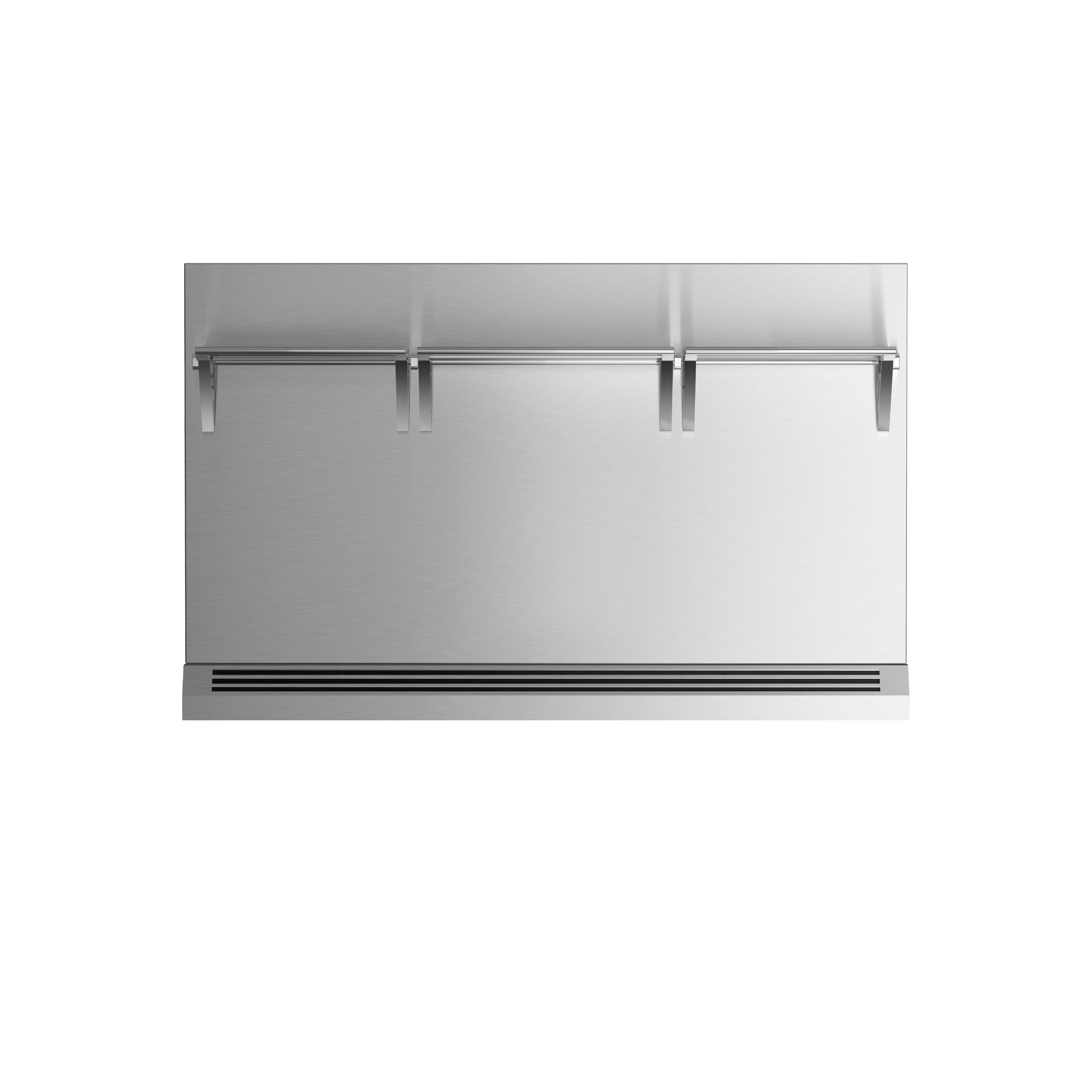 """Model: BGRV2-3048H   Fisher and Paykel 48"""" Range High Backguard for combustible situation"""
