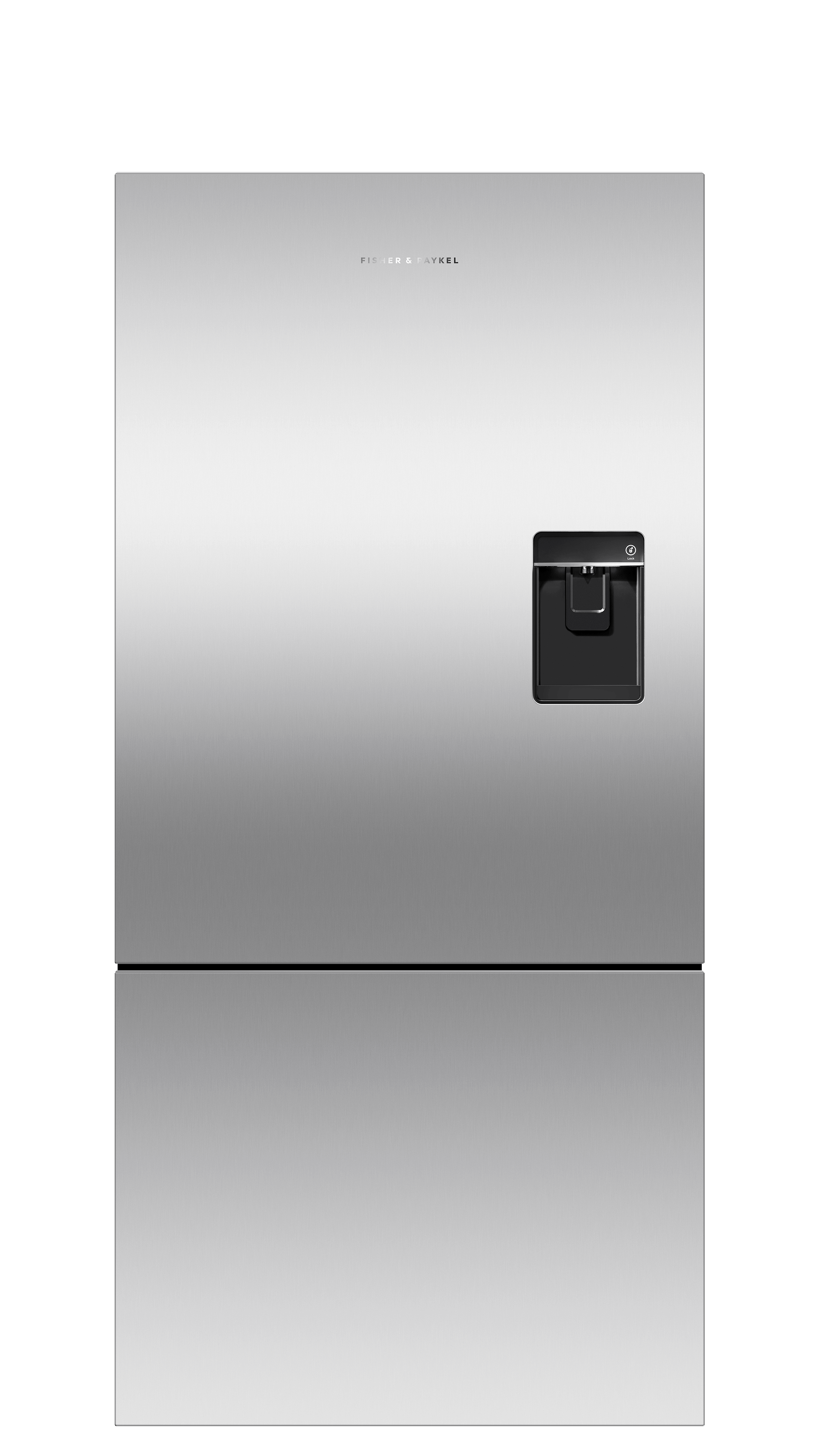 Model: RF170BRPUX6_N   Fisher and Paykel Counter Depth Refrigerator 17.5 cu ft, Ice & Water
