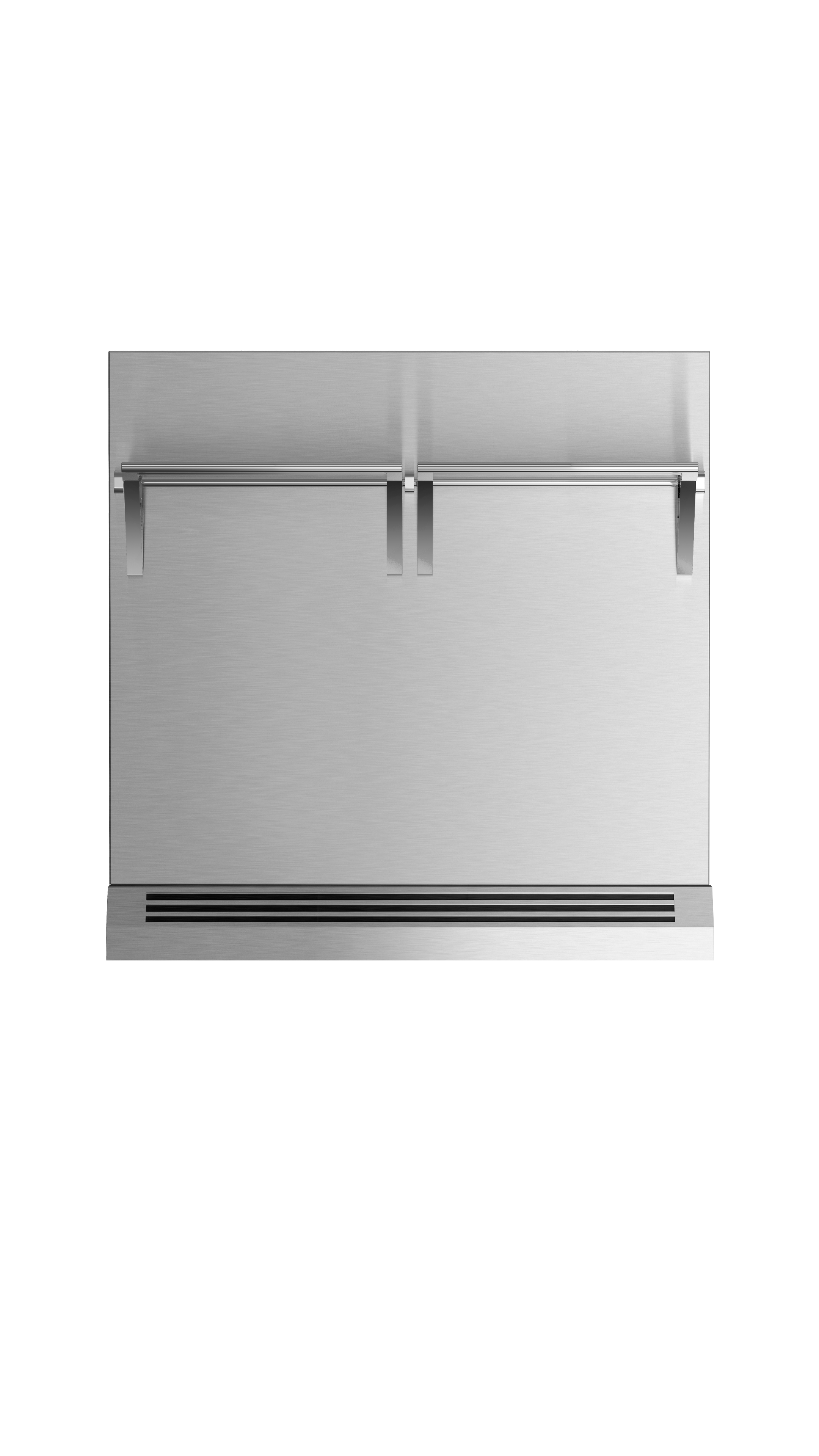 """Model: BGRV2-3030H   Fisher and Paykel 30"""" Range High Backguard for combustible situation"""