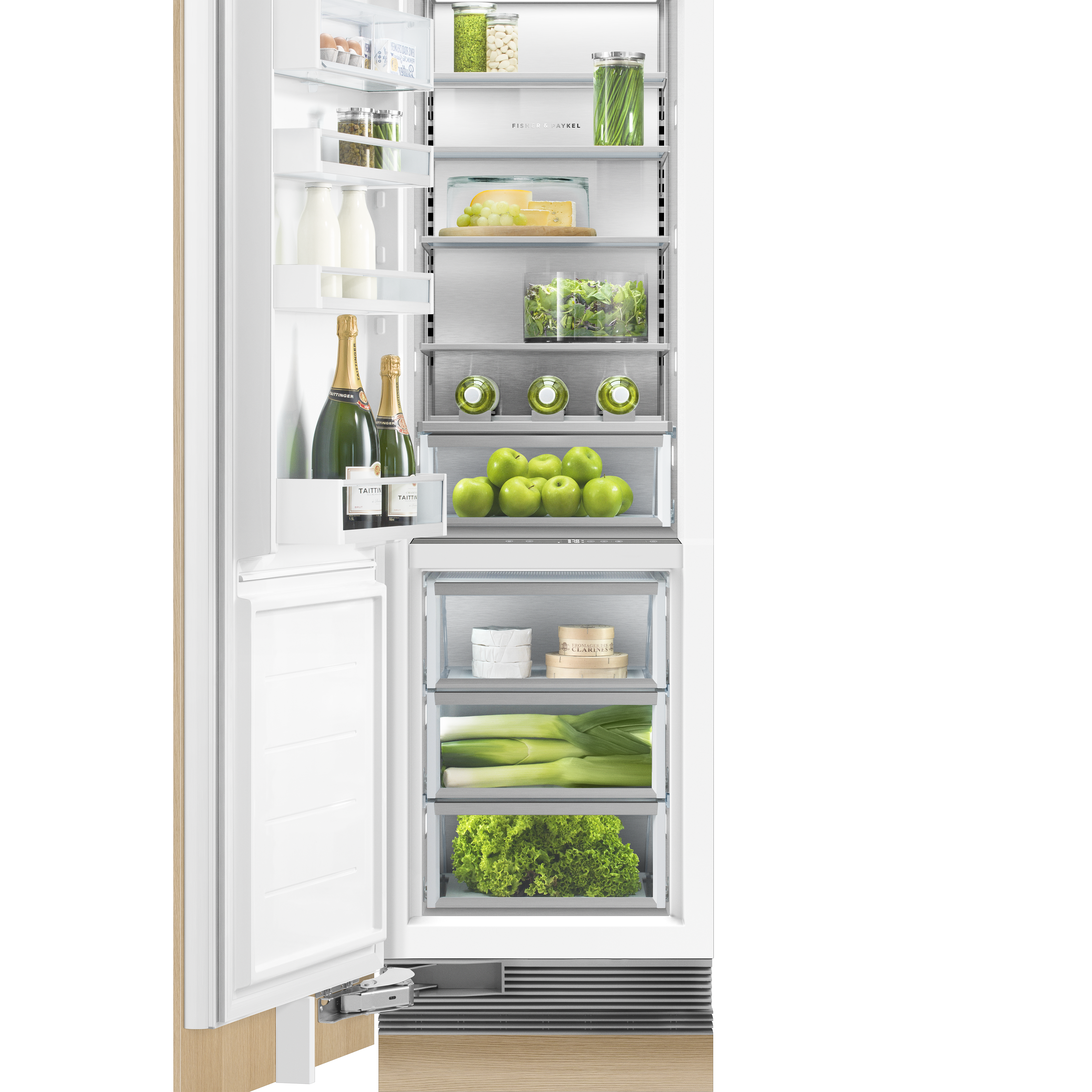 """Fisher and Paykel Integrated Column Refrigerator, 24"""""""