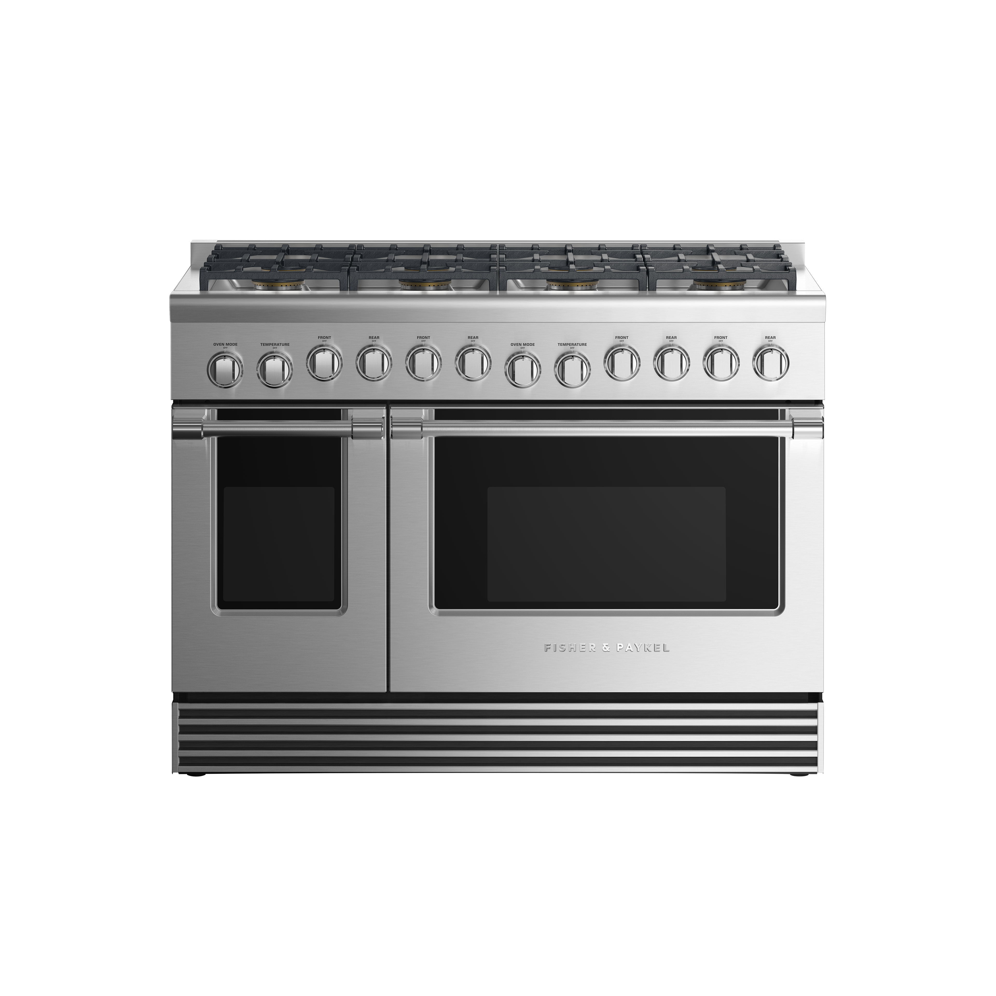 "Fisher and Paykel Dual Fuel Range, 48"", 8 Burners, LPG"
