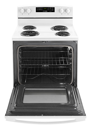Model: ACR4503SFW | Amana 30-inch Electric Range with Self-Clean Option