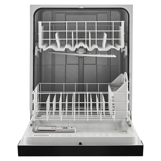 Model: ADB1400AGB | Amana Dishwasher with Triple Filter Wash System